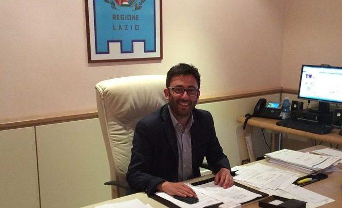 """Buschini: """"Pubblicato il bando per la frana di Via Lungo Liri a Pontecorvo, dalla Regione 1,2 milioni"""""""