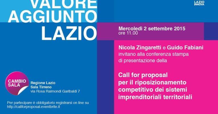 Call for proposal – Sostegno al riposizionamento competitivo dei sistemi imprenditoriali territoriali