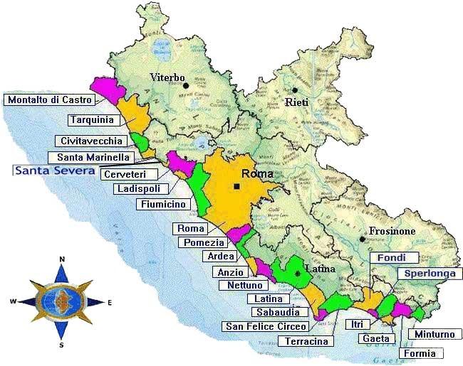 Cartina Mare Lazio.Buschini Su Sito Arpa Monitoraggio Istantaneo Acque Delle Aree Balneabili Del Lazio Mauro Buschini