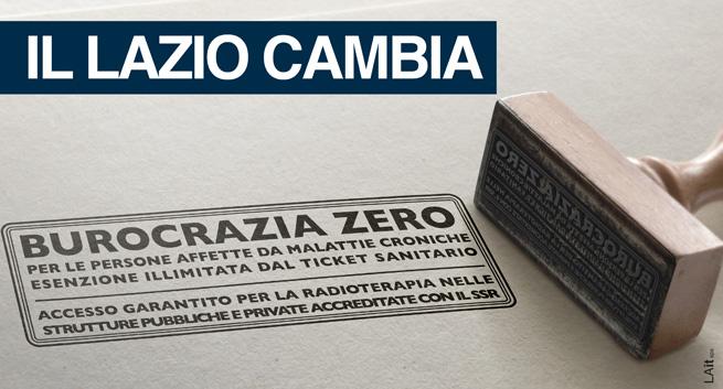 Burocrazia zero per le persone affette da malattie croniche