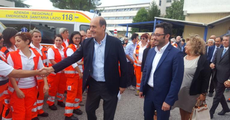 """Buschini: """"Consegnate nuove ambulanze per l'Asl di Frosinone"""""""