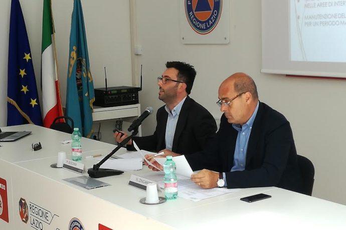 Zingaretti e Buschini presentano bando da 3 milioni per prevenzione e contrasto incendi boschivi