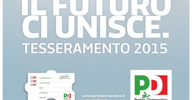 Calendario Tesseramento 2015 Circolo PD di Ceccano